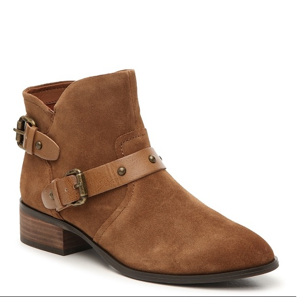 New Crown Vintage Suede Ankle Boots